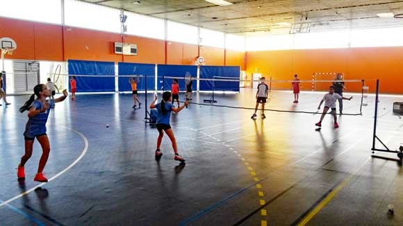 Week-end pascal sous le signe du badminton