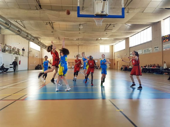 Tournoi de basket ball inter-comité U13 phase de zone